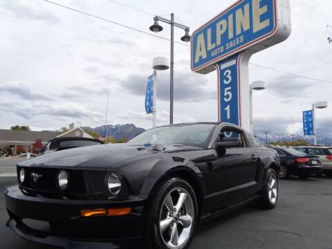 2007 Ford Mustang for sale at Alpine Auto Sales in Salt Lake City UT