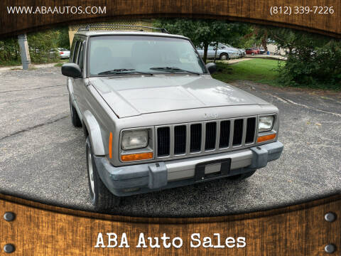 2001 Jeep Cherokee for sale at ABA Auto Sales in Bloomington IN
