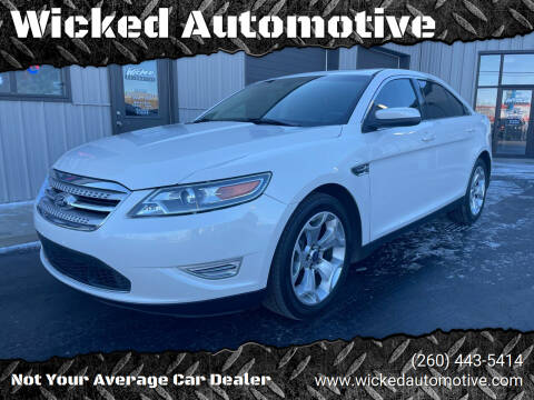 2010 Ford Taurus for sale at Wicked Automotive in Fort Wayne IN