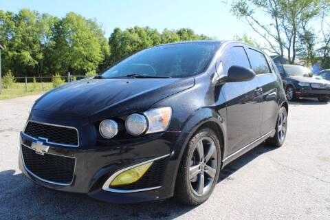 2013 Chevrolet Sonic for sale at UpCountry Motors in Taylors SC