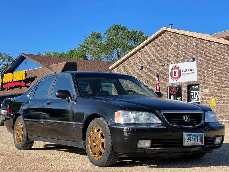 2000 Acura RL for sale at Big Man Motors in Farmington MN