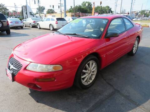 1998 Chrysler Sebring for sale at Bells Auto Sales in Hammond IN