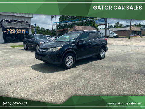 2013 Toyota RAV4 for sale at Gator Car Sales in Picayune MS