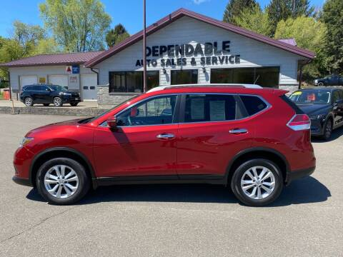 2015 Nissan Rogue for sale at Dependable Auto Sales and Service in Binghamton NY