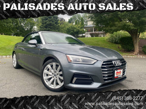 2018 Audi A5 for sale at PALISADES AUTO SALES in Nyack NY