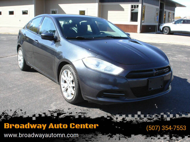 2013 Dodge Dart for sale at Broadway Auto Center in New Ulm MN
