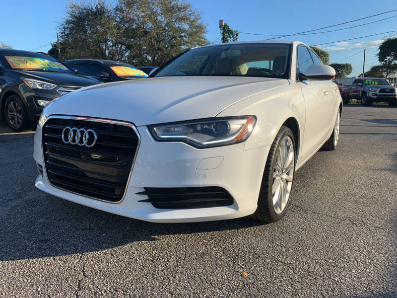 2014 Audi A6 for sale at Bargain Auto Sales in West Palm Beach FL