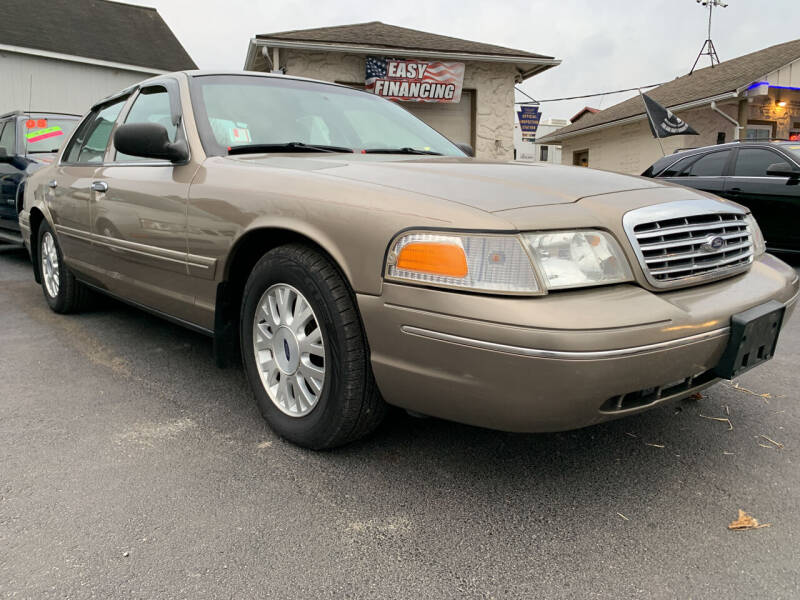 2003 Ford Crown Victoria for sale at Waltz Sales LLC in Gap PA