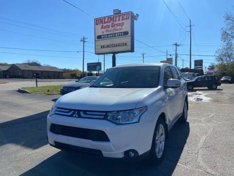 2014 Mitsubishi Outlander for sale at Unlimited Auto Group in West Chester OH