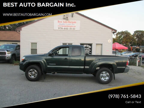 2011 Toyota Tacoma for sale at BEST AUTO BARGAIN inc. in Lowell MA