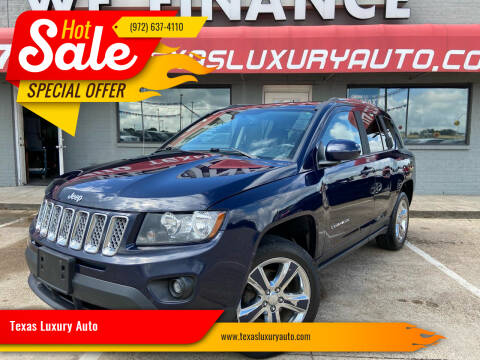 2014 Jeep Compass for sale at Texas Luxury Auto in Cedar Hill TX