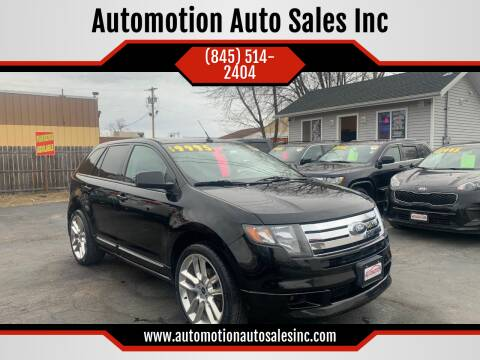 2010 Ford Edge for sale at Automotion Auto Sales Inc in Kingston NY