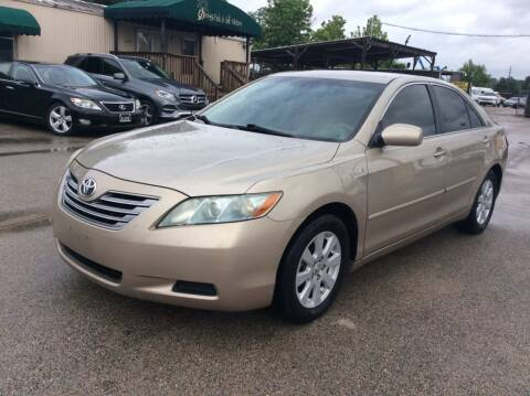 2008 Toyota Camry Hybrid for sale at OASIS PARK & SELL in Spring TX