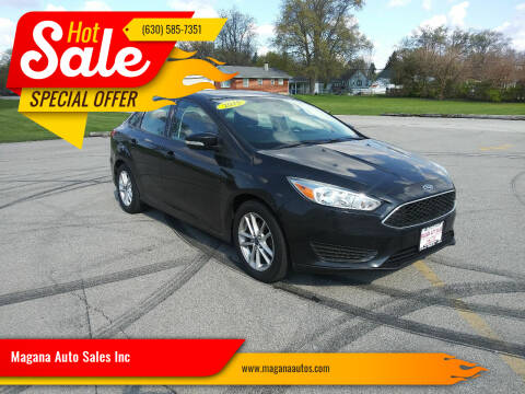 2015 Ford Focus for sale at Magana Auto Sales Inc in Aurora IL