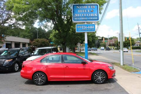 2016 Volkswagen Jetta for sale at North Hills Motors in Raleigh NC