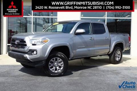 2017 Toyota Tacoma for sale at Griffin Mitsubishi in Monroe NC