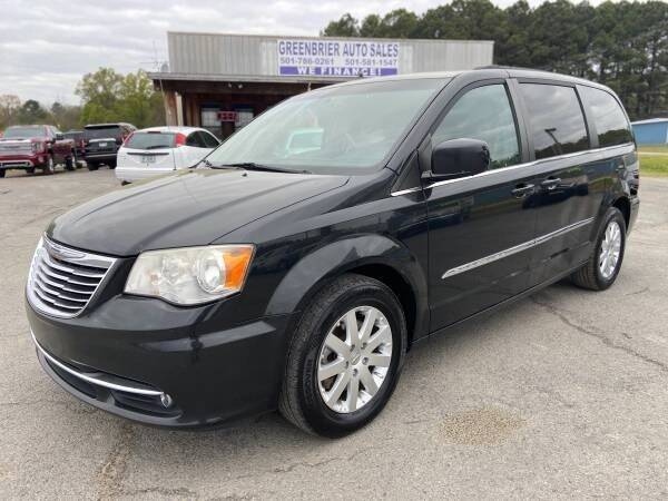 2014 Chrysler Town and Country for sale at Greenbrier Auto Sales in Greenbrier AR