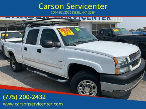 2004 Chevrolet Silverado 2500HD for sale at Carson Servicenter in Carson City NV
