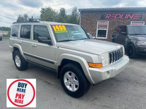 2007 Jeep Commander for sale at Redline Motorplex,LLC in Gallatin TN