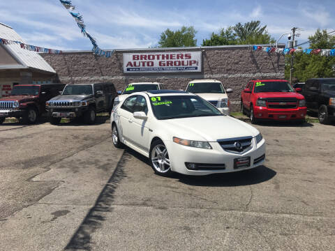 2007 Acura TL for sale at Brothers Auto Group in Youngstown OH