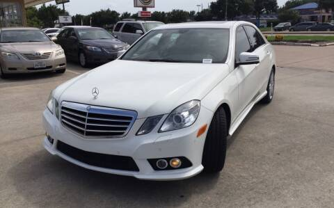 2010 Mercedes-Benz E-Class for sale at Houston Auto Gallery in Katy TX