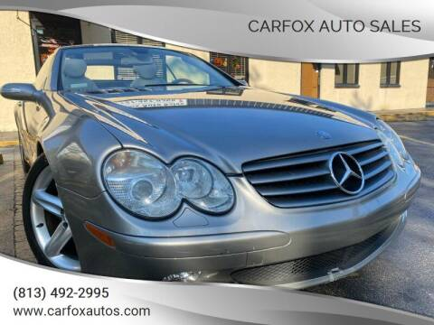 2005 Mercedes-Benz SL-Class for sale at Carfox Auto Sales in Tampa FL