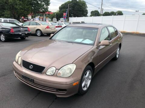 1998 Lexus GS 300 for sale at First Class Autos in Maiden NC