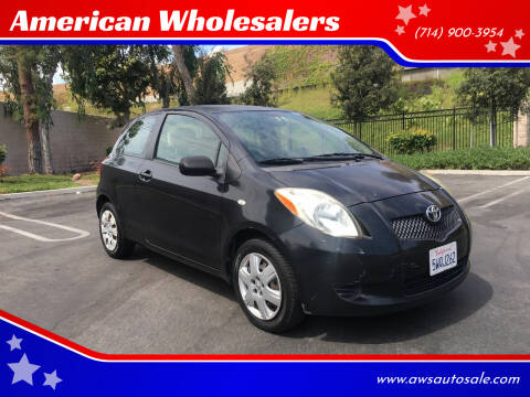 2007 Toyota Yaris for sale at American Wholesalers in Huntington Beach CA