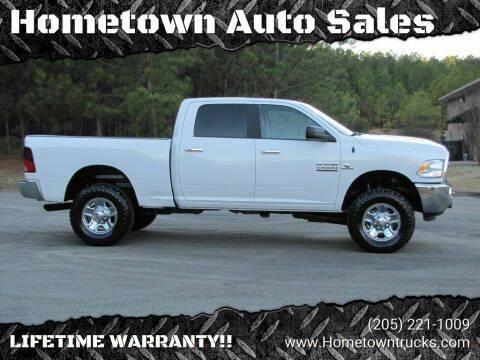 2018 RAM Ram Pickup 2500 for sale at Hometown Auto Sales - Trucks in Jasper AL
