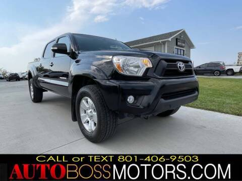 2015 Toyota Tacoma for sale at Auto Boss in Woods Cross UT