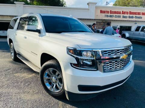 2015 Chevrolet Suburban for sale at North Georgia Auto Brokers in Snellville GA
