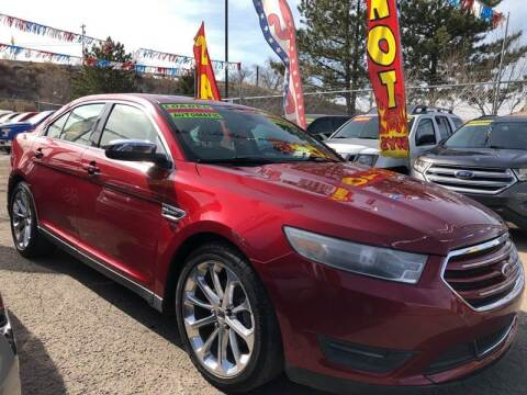 2013 Ford Taurus for sale at Duke City Auto LLC in Gallup NM