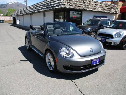 2013 Volkswagen Beetle Convertible for sale at Autobahn Motors Corp in Bountiful UT