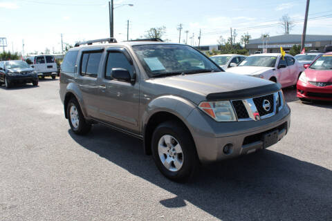 2006 Nissan Pathfinder for sale at Jamrock Auto Sales of Panama City in Panama City FL