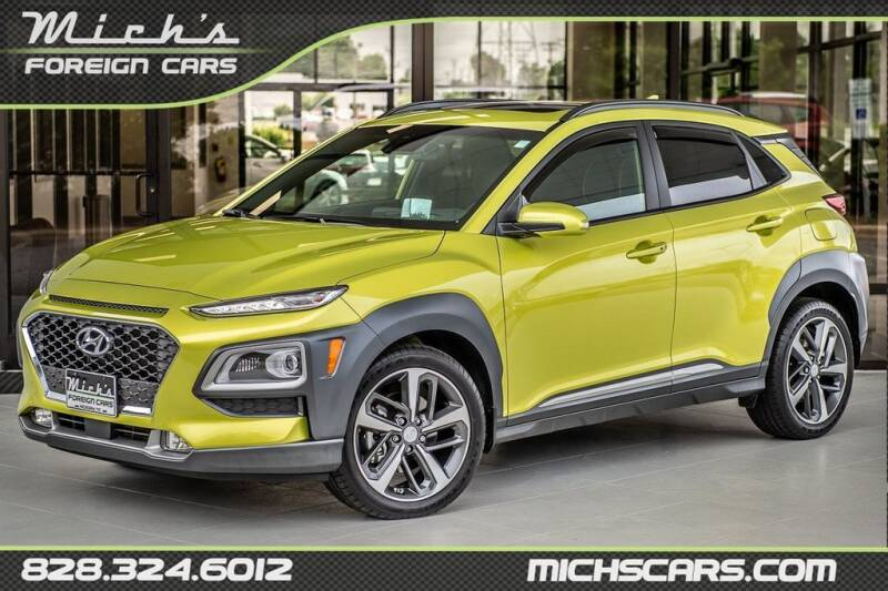 2020 Hyundai Kona for sale at Mich's Foreign Cars in Hickory NC