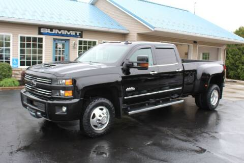 2017 Chevrolet Silverado 3500HD for sale at Summit Motorcars in Wooster OH