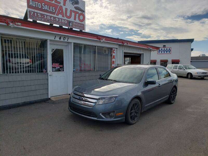 2012 Ford Fusion for sale at Apsey Auto in Marshfield WI