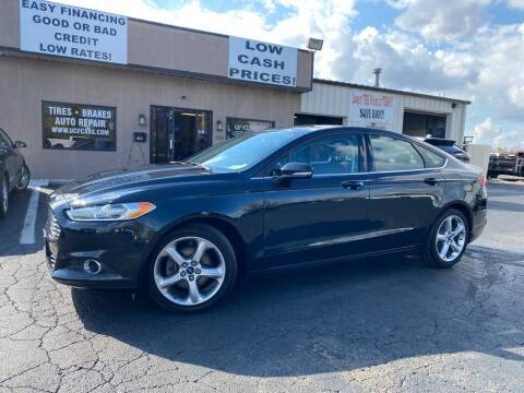 2014 Ford Fusion for sale at Used Car Factory Sales & Service Troy in Troy OH