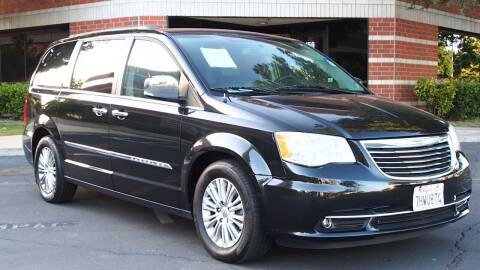 2015 Chrysler Town and Country for sale at Okaidi Auto Sales in Sacramento CA