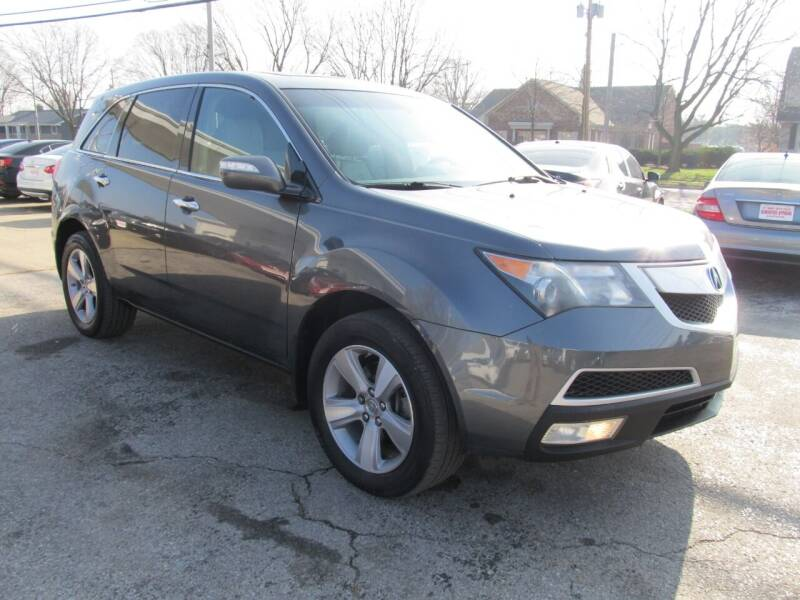 2011 Acura MDX for sale at St. Mary Auto Sales in Hilliard OH