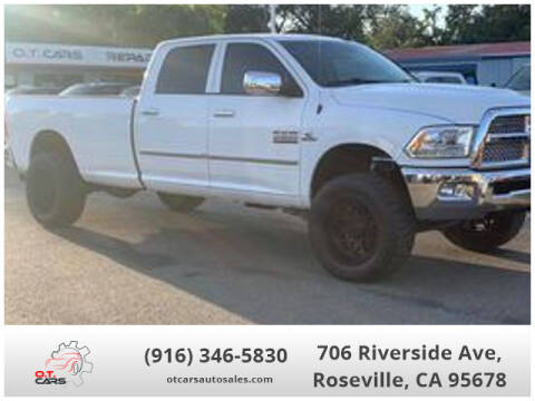 2015 RAM Ram Pickup 2500 for sale at OT CARS AUTO SALES in Roseville CA