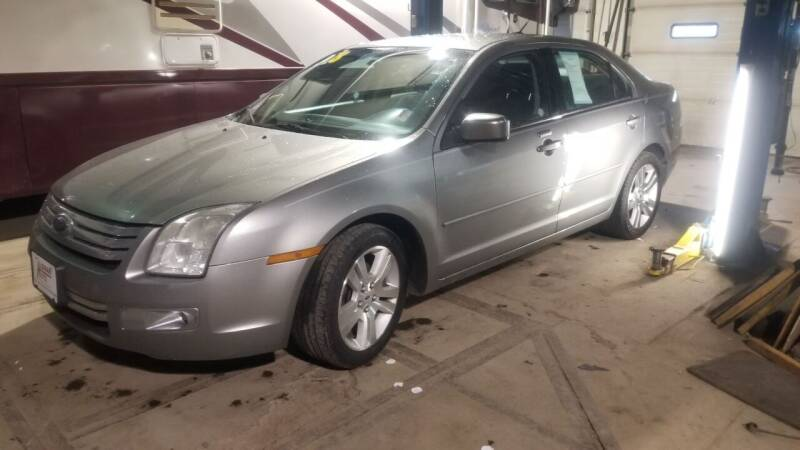2008 Ford Fusion for sale at ALEMAN AUTO INC in Norfolk NE