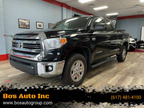 2017 Toyota Tundra for sale at Bos Auto Inc in Quincy MA