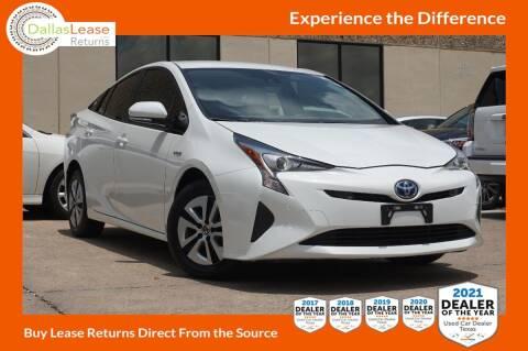 2018 Toyota Prius for sale at Dallas Auto Finance in Dallas TX