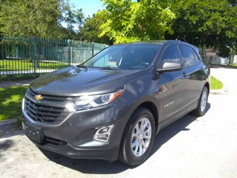 2018 Chevrolet Equinox for sale at Exotic Auto Brokers in Miami FL