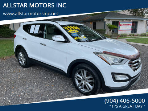 2013 Hyundai Santa Fe Sport for sale at ALLSTAR MOTORS INC in Middleburg FL