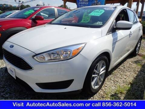 2018 Ford Focus for sale at Autotec Auto Sales in Vineland NJ