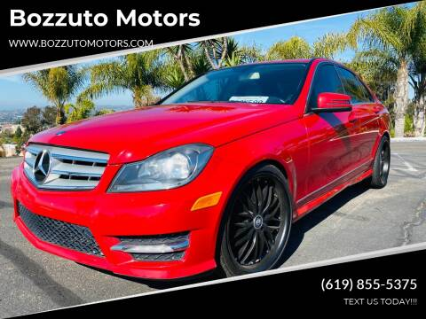 2012 Mercedes-Benz C-Class for sale at Bozzuto Motors in San Diego CA