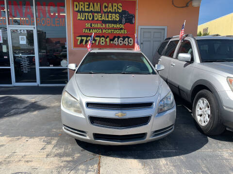 2012 Chevrolet Malibu for sale at DREAM CARS in Stuart FL