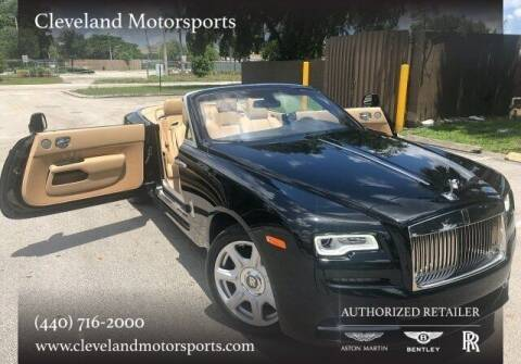2016 Rolls-Royce Dawn for sale at Drive Options in North Olmsted OH